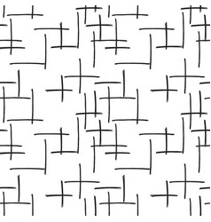 marker strokes seamless pattern vector image