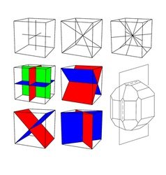 The symmetry crystals vector