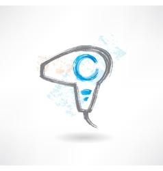 dryer brush icon vector image