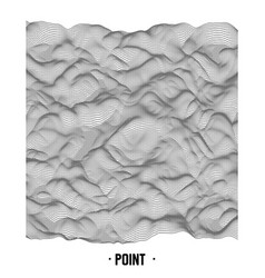 abstract point noise background vector image vector image