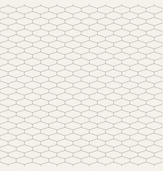 Abstract seamless pattern hexagonal grid design vector