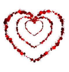heart grunge3 00000 vector image