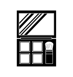 makeup related icon image vector image