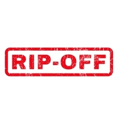 Rip-Off Rubber Stamp vector
