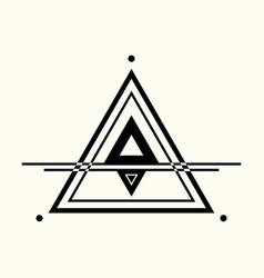 sacred geometry 0063 vector image