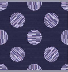 Tri polka dot melange seamless pattern modern vector