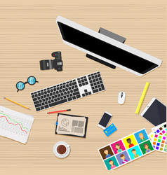 workplace business office job people graphic web vector image