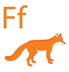 Fox for f vector image