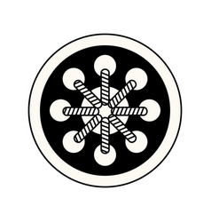 dream catcher free spirit decoration ethnic image vector image vector image