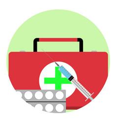 health care app icon vector image