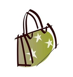 A bag vector image vector image
