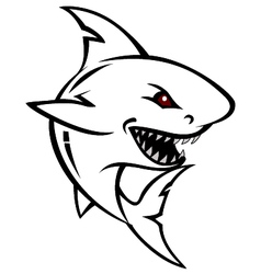 shark tattoo for you design vector image