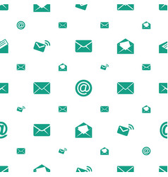 Address icons pattern seamless white background vector