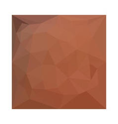 Burnt Orange Abstract Low Polygon Background vector