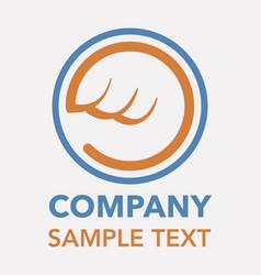 delivery company logo vector image