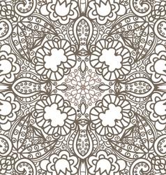 flower decorative pattern vector image