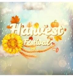 Harvest Festival Poster EPS 10 vector