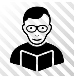 Reader Icon vector image