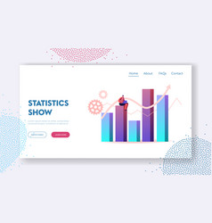 Science statistics or audit analysis inspection vector