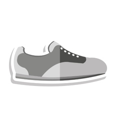 Shoes golf special equipment icon vector