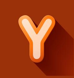 Volume icons alphabet y vector