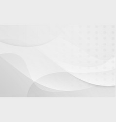 White smooth abstract background vector