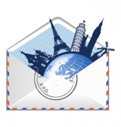 global email concept vector image