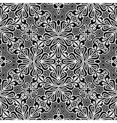 Decorative seamless pattern vector image