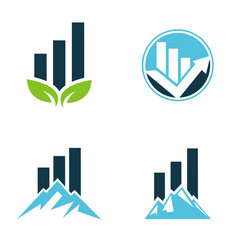 business investment logo vector image