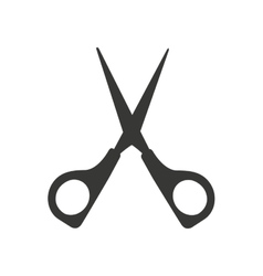cutting scissors isolated icon design vector image