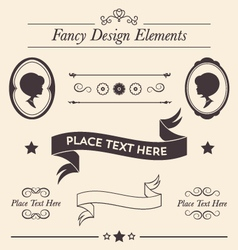 Fancy Design Elements Collection vector image