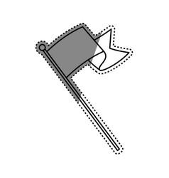 Flag or pennant vector