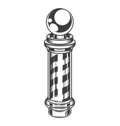 Logotype for barbershop vintage style barber shop vector