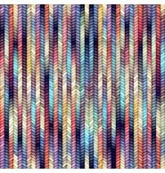 Melange knitting vector