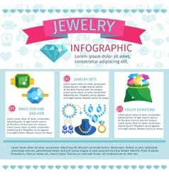Precious Jewels Infographics vector image