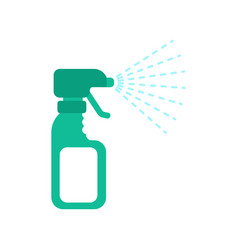 spray and splash drops of water cleaning accessory vector image