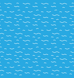 Water seamless patterns vector