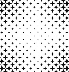 Black and white abstract pattern background vector