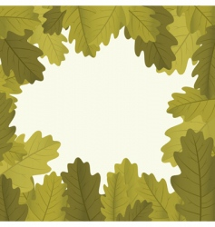 autumn framework vector image vector image