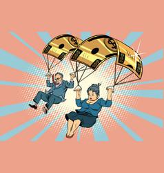Golden parachute financial compensation in the vector
