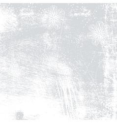 Floral Background Grey vector image