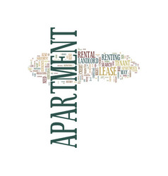 Apartment search text background word cloud vector