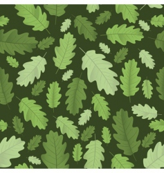 background with leaves vector illustration vector image