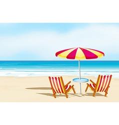 Beachsand vector image