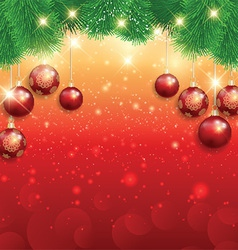 christmas background 0210 vector image