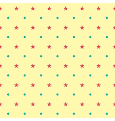 Colorful Star Pattern vector image