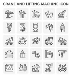 crane icon design vector image