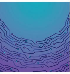 creative concept meta blue purple scheme vector image