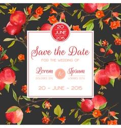 Invitation Congratulation Card - for Wedding vector image