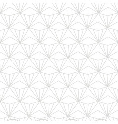 japanese chinese traditional geometric pattern vector image